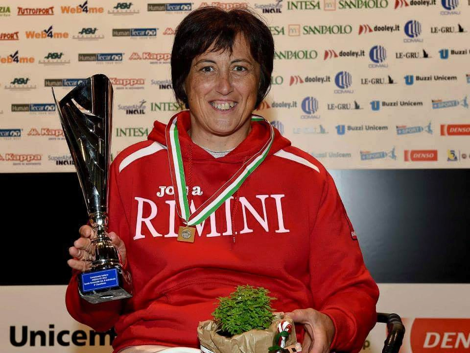 Sara Valenti 2° classificata Campionati Italiani Assoluti spada femminile Torino2015